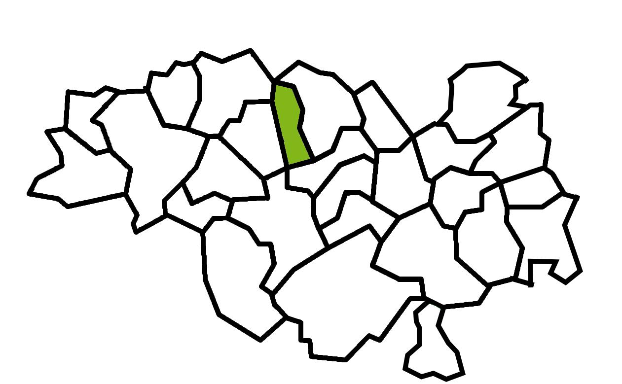 carte commune Saint-Géron