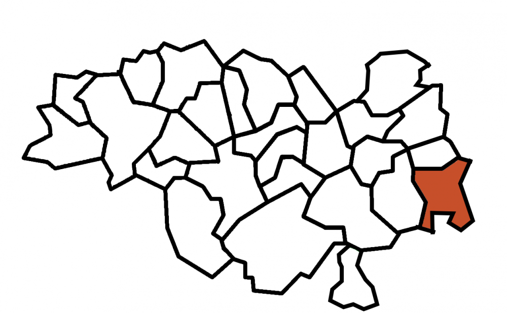 carte commune Frugières-le-Pin