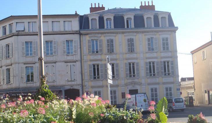 siège CCB-vue de la place de Paris