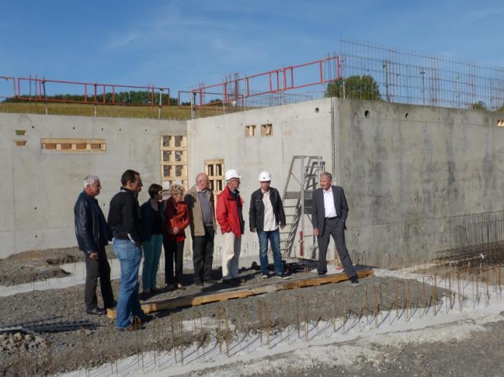 visite de chantier du 5 juin 2014