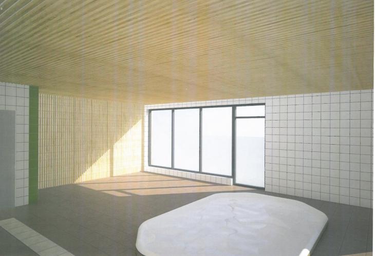 Vue 3D du SPA-CHM Architectes