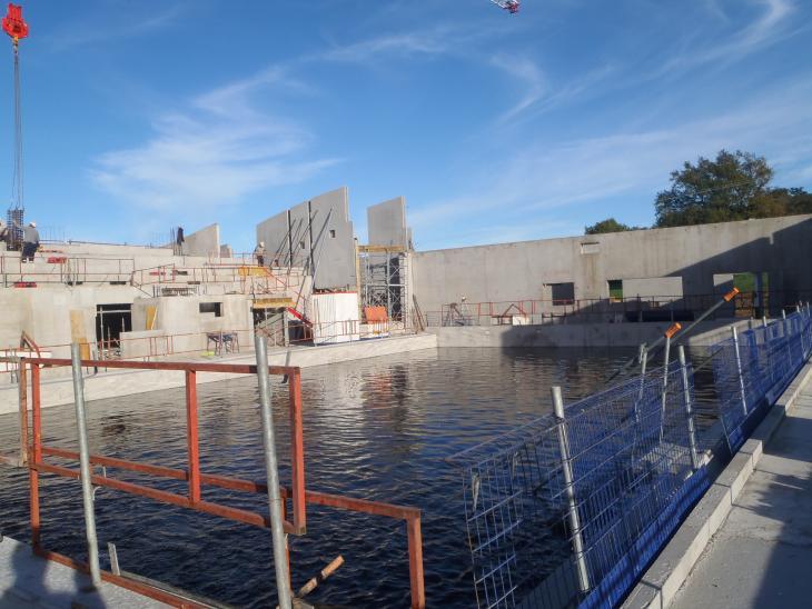 vue du bassin principal au 30/10/2014